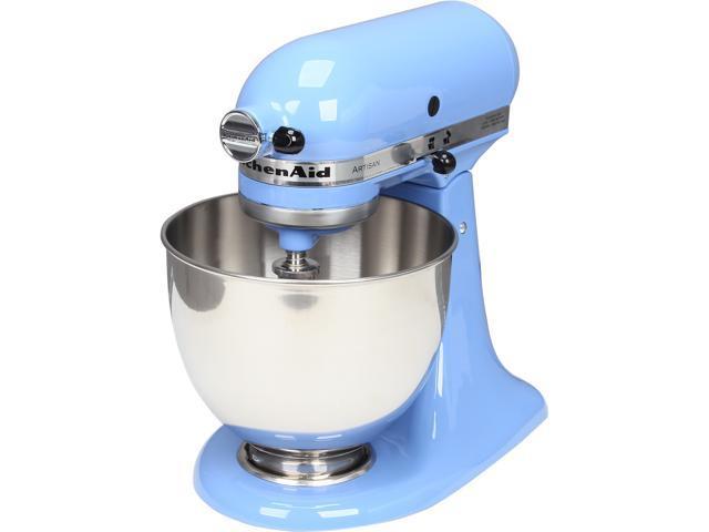 KitchenAid KSM150PSCO Artisan Series 5-Quart Tilt-Head Stand Mixer Cornflower Blue