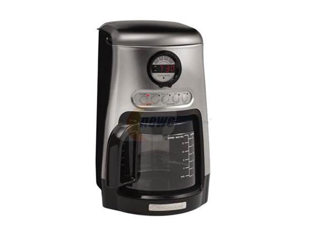 Java Studio Coffee Maker : KitchenAid KCM515OB Black JavaStudio 10-Cup Coffee Maker - Newegg.com