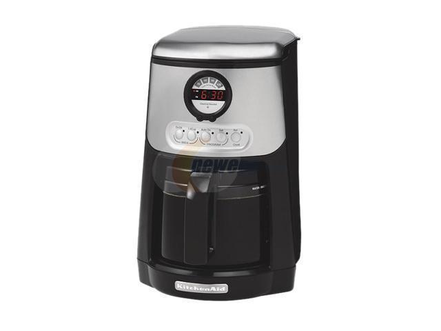 KitchenAid KCM534OB Black JAVASTUDIO 14 Cup Coffee Maker