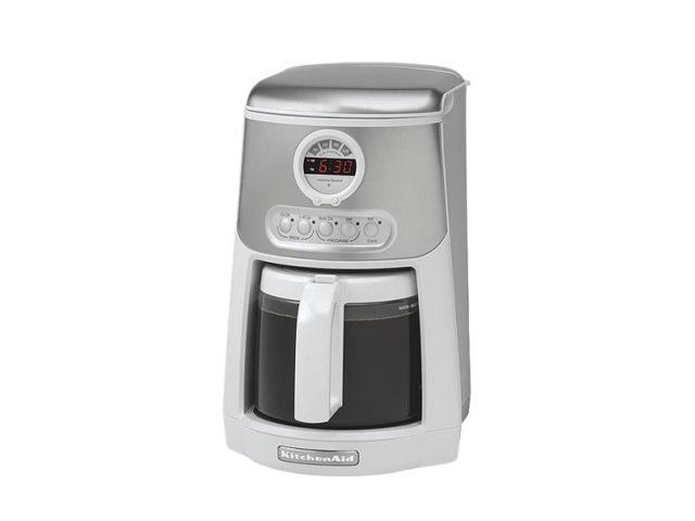 Java Studio Coffee Maker : KitchenAid KCM534WH White JAVASTUDIO 14 Cup Coffee Maker - Newegg.com
