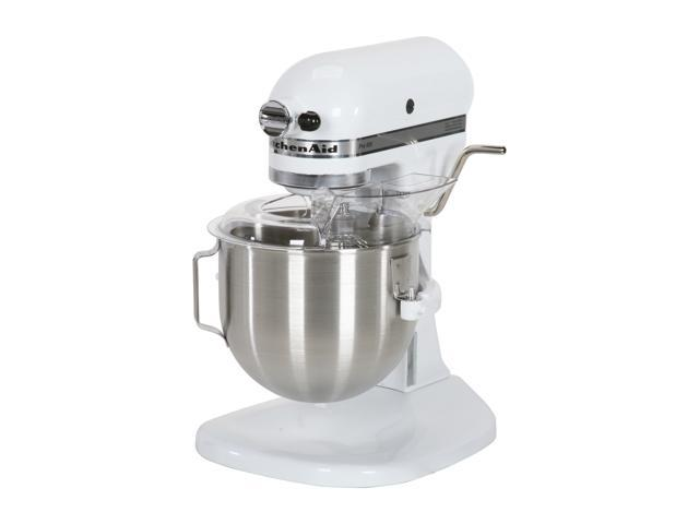 KitchenAid KSM500PSWH Pro 500 Bowl-Lift Stand Mixer White