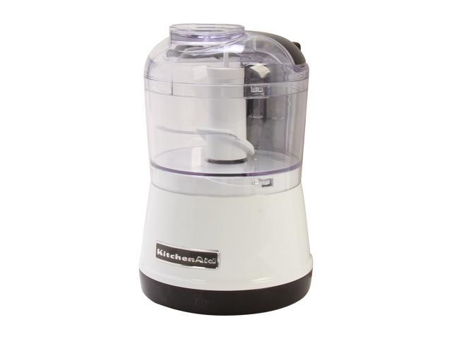 KitchenAid KFC3511WH White 3.5 Cup Food Chopper
