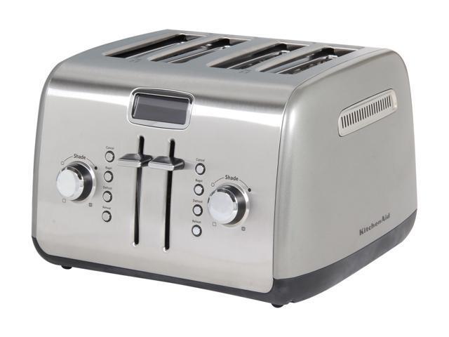 KitchenAid KMT422CU Contour Silver 4 Slice Toaster