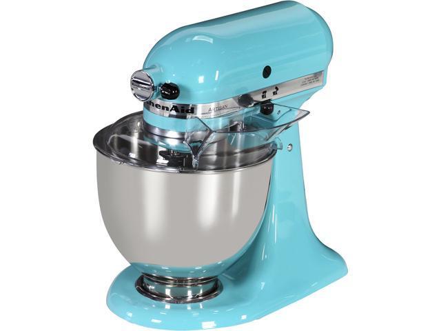KitchenAid KSM150PSAQ Artisan Series 5-Quart Tilt-Head Stand Mixer Aqua Sky