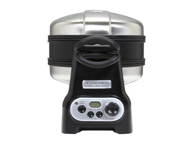 KitchenAid KPWB1000B Onyx Black Pro Line Series Waffle Baker