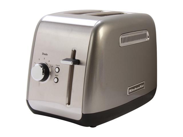KitchenAid KMT2115CU Countour Silver 2 Slice Toaster