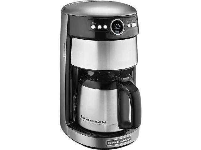 KitchenAid KCM1203CU Contour Silver 12 Cup Thermal Carafe Coffee Maker