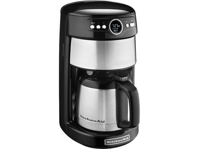KitchenAid KCM1203OB Onyx Black 12 Cup Thermal Carafe Coffee Maker