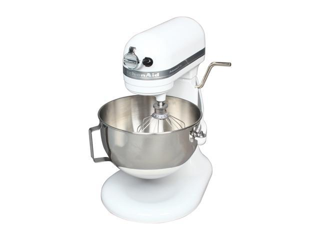 KitchenAid KV25G0XWH Professional 5 Plus Series Stand Mixer White