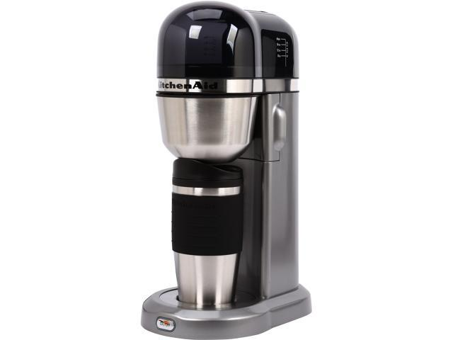 Kitchenaid Kcm0402cu Contour Silver Personal Coffee Maker