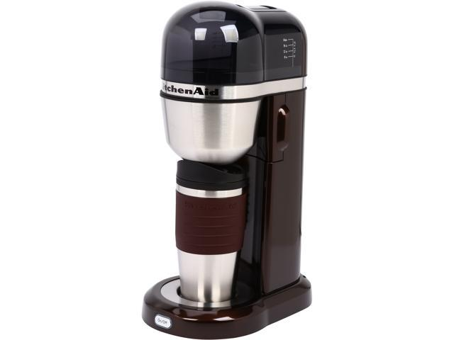 KitchenAid KCM0402ES Espresso Personal Coffee Maker with Optimized Brewing Technology - Newegg.com