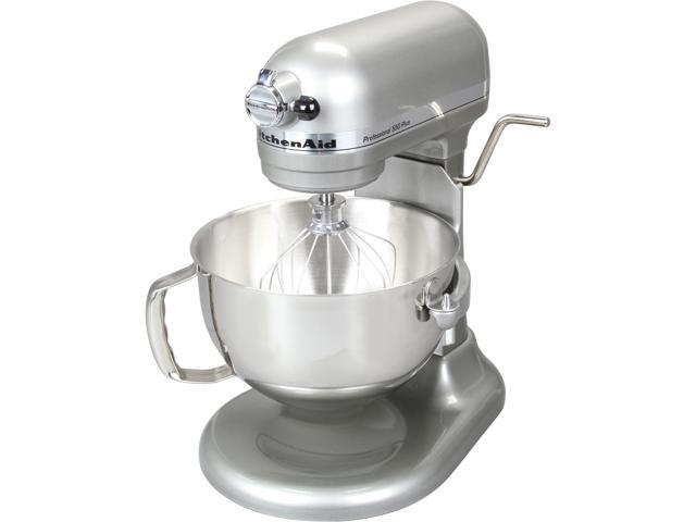 KitchenAid KV25MEXCU Professional 550 Plus 5.5 Qt. Stand Mixer, Bowl Lift Contour Silver
