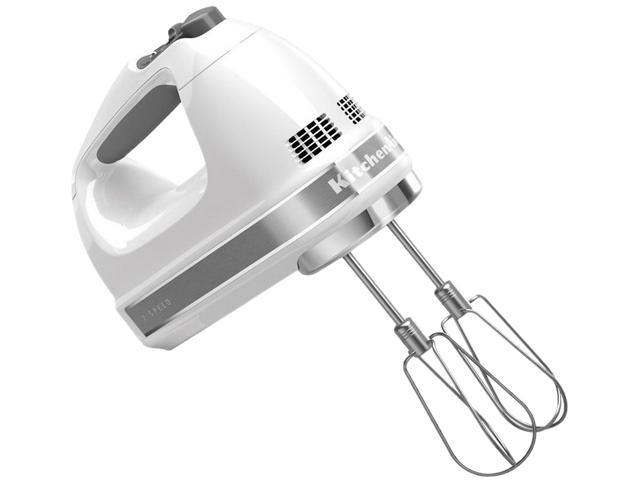 KitchenAid KHM7210WH 7-Speed Hand Mixer White