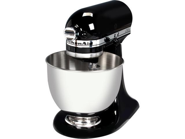 kitchenaid onyx black. kitchenaid ksm85pbob 4.5-quart tilt-head stand mixer onyx black kitchenaid