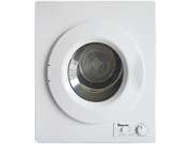 Magic Chef MCSDRY1S White 2.6 Cubic-Ft 2.6 Cubic-Ft Compact Dryer