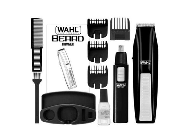 WAHL 5537-1801 Wireless Beard Trimmer with Bonus Ear, Nose & Brow Trimmer