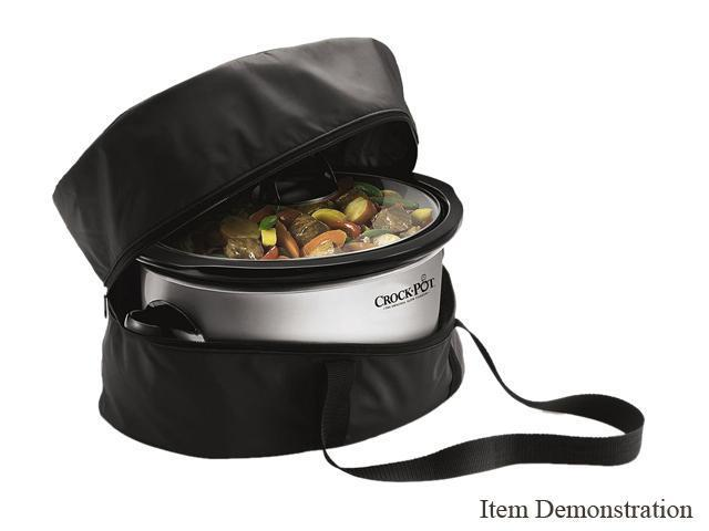 RIVAL SCBAG Black Crock-Pot Insulated Travel Bag