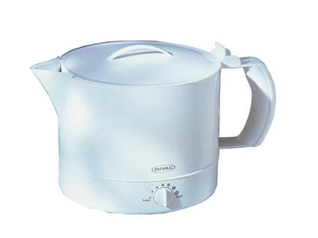 RIVAL 4071-WN White 32-Ounce Hot Pot Express