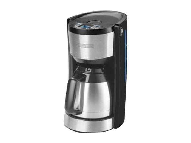 Black & Decker CMD3500MBT Black 8-Cup Programmable Coffeemaker with Thermal Carafe