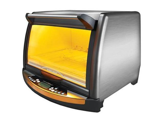 Black & Decker FC150R Silver InfraWave Speed Cooking Countertop Oven ...