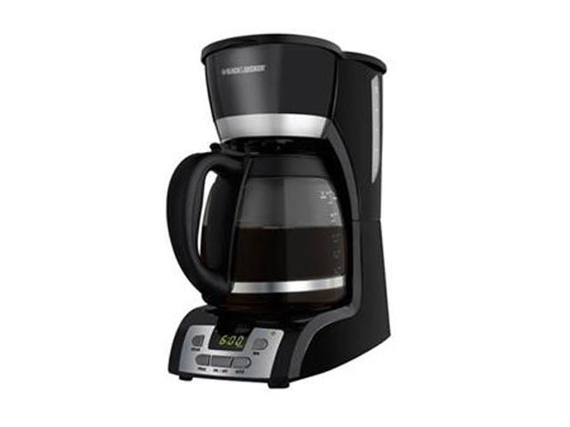 Black & Decker DCM2160B Black 12-Cup Programmable