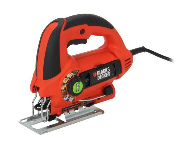 Black & Decker JS660 Jigsaw Kit with Quickclamp & SightLine Channel
