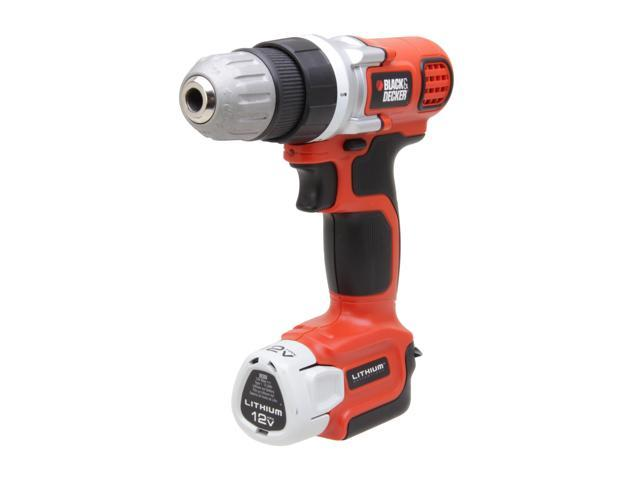 Black & Decker LDX112C 12V MAX Lithium Drill/Driver