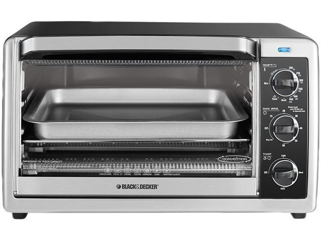 Black & Decker TO1675B 6 Slice Toaster Oven SS