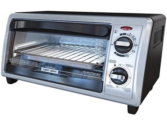 Black & Decker TO1322SBD 4-Slice Toaster Oven
