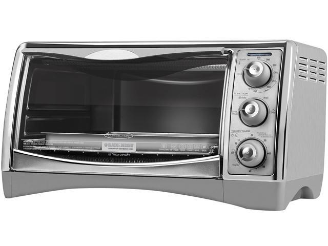Black and Stainless Steel 1 420 Watt Touchpad Control Countertop Rotisserie Oven