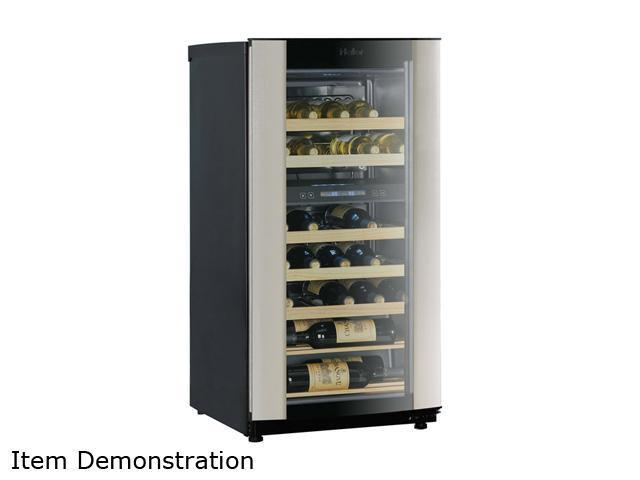 Haier HVZ040ABH Wine Cellar with Dual Storage Compartment Black