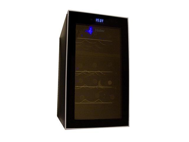 haier hvts18dabb black wine cooler wine accessories. Black Bedroom Furniture Sets. Home Design Ideas