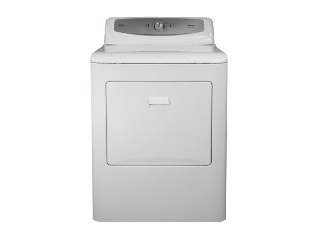 Haier RDE350AW White 6.6 Cu. Ft. Electric Dryer