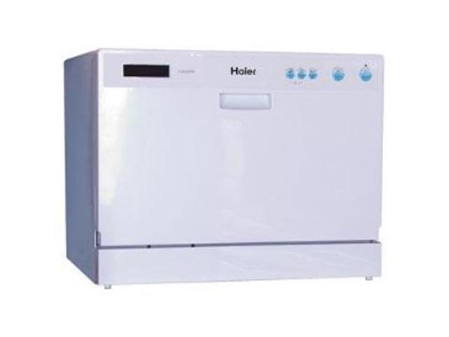 Haier HDC2406TW Counter top Dishwasher White