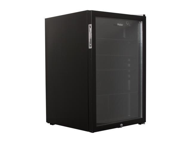 Haier HCN05FVSKB Beverage/wine Center (Black Door) Black Cabinet / Metal Trim