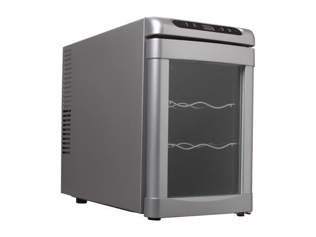 Haier HVUEB06BSG Thermal Electric Wine Cellar (Silver) Silver
