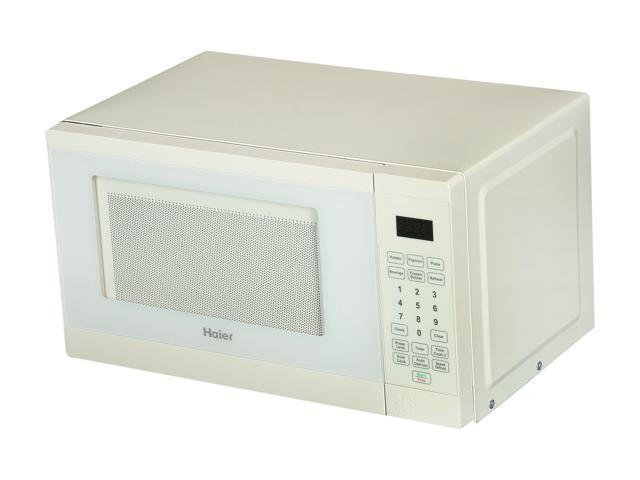 Haier 700 watt 0.7 Cubic Foot Microwave Oven HMC720BEWW