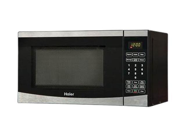 Haier HMC725SESS 0.7 cu. ft. 700 Watt Microwave, Black/Stainless Steel