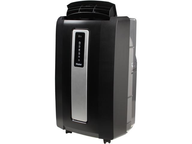 Haier 12,000-BTU Portable Air Conditioner, HPF12XCM-LB, Black