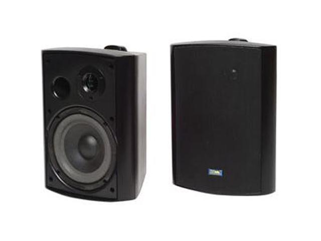 TIC ASP120B Black Outdoor Patio Speaker Pair