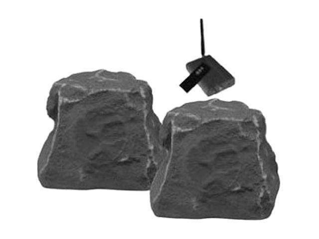 TIC TICWRS010SL Wireless Outdoor Rock Speakers (Slate) Pair