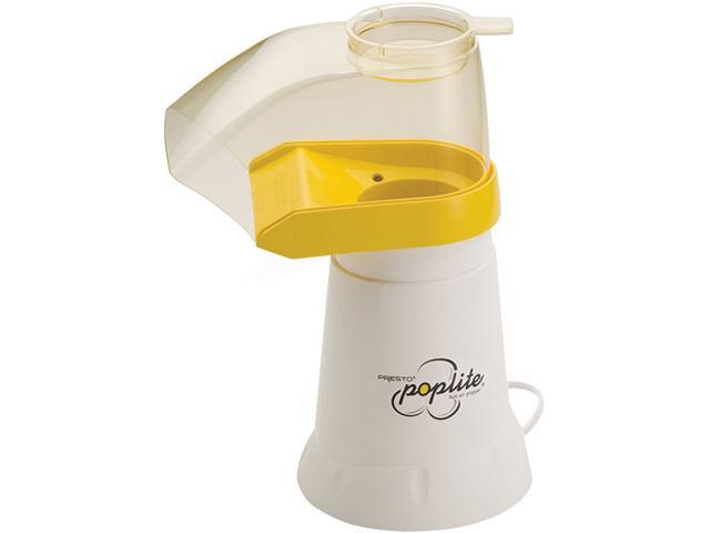 PRESTO 04820 White PopLite hot air corn popper
