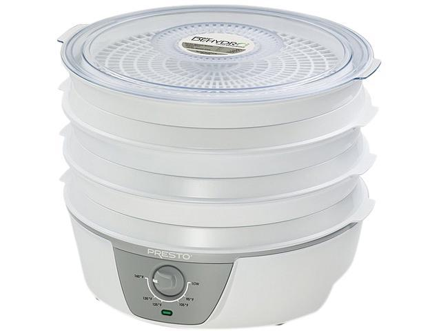 Presto 06302 Dehydro Electric Food Dehydrator with Adjustable Thermostat