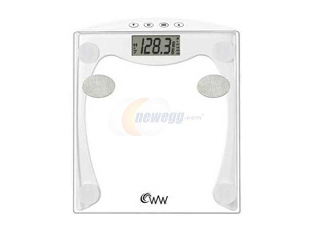 CONAIR WW35D Weight Watchers Body Fat Glass Electronic Scale