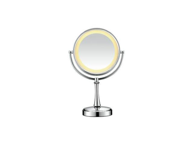 CONAIR BE87CR Polished Chrome Touch Control Lighted Makeup Mirror