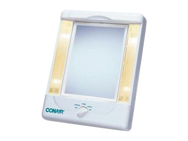 CONAIR TM8L Illumina Collection Two Sided Makeup Mirror With 4 Light Settings