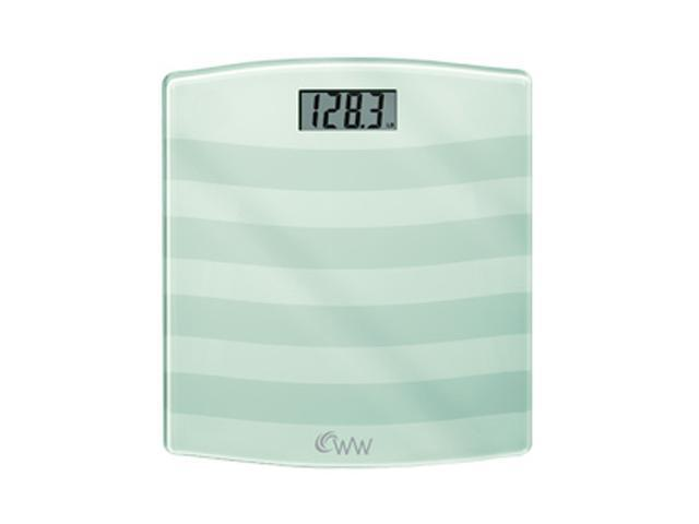 CONAIR WW24W Weight Watchers Digital Painted Glass Scale