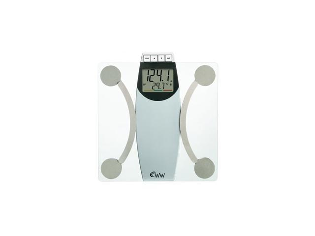 WeightWatchers® Glass Body Analysis Scale