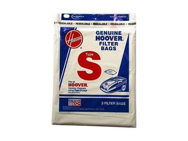 HOOVER 4010064S 3 Pack Type S Vacuum Cleaner Bag