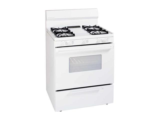 "Frigidaire 30"" Gas Range NSCO Open Burner FGF316DS White ..."